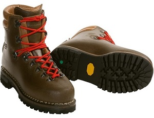 Mens Hiking Boots Button