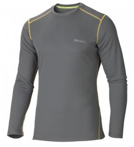 Marmot Thermaclime Sport Crew Long Sleeve For Men