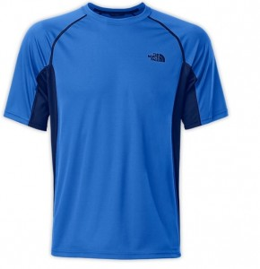 THE NORTH FACE MENS FLEX CREW SHORT SLEEVE TEE