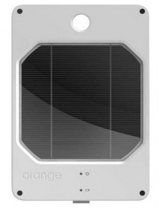 Joos Solar Orange Portable Solar Charger