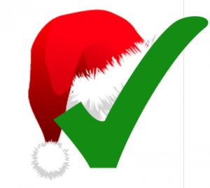 Christmas Check Mark