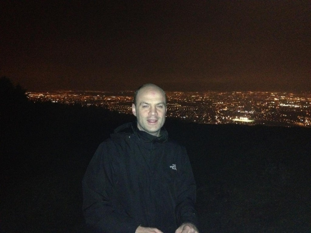 Colm Night Hike