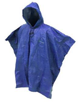 Frogg Toggs Action Poncho Adult Blue