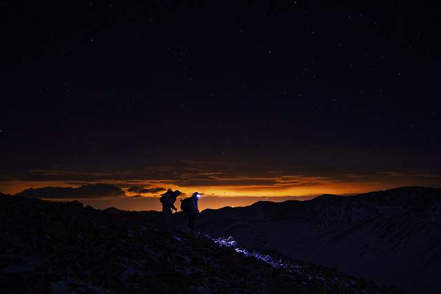 Hiking at Night
