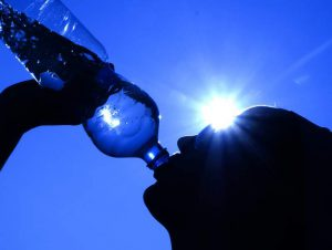 Drinking Water In The Heat