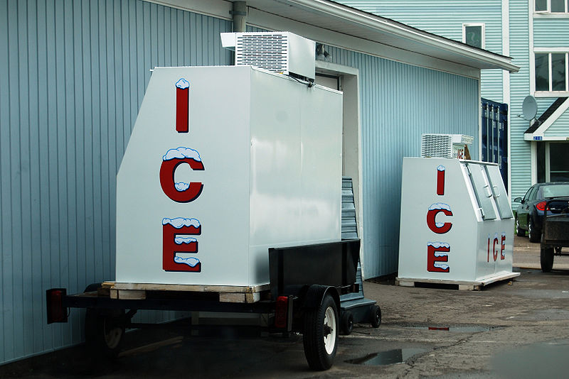 Ice Outdoor Freezer