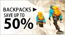 Backpacks Save Up To 50 Per Cent