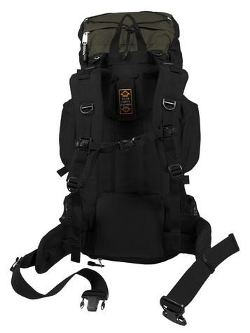 Internal Frame Back Pack Inside