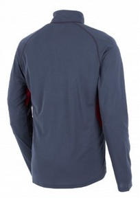 Berghaus Mens Tech Tee LS Zip Baselayer Back