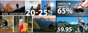 Sierra Trading Post April 40 Per Cent Promo Offer