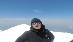 On The Summit Of Mont Blanc