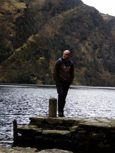 Beside Glendalough Upper Lake