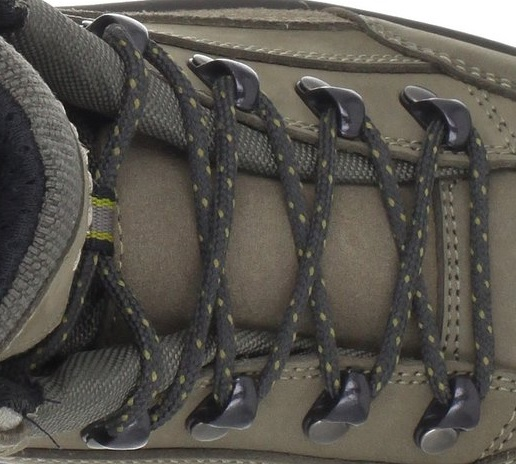 Lowa Womens Renegade GTX Mid Hiking Boot Lacing System