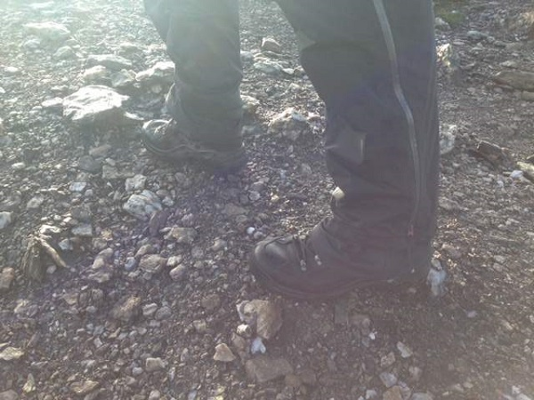 Renegade Boots Walking On Stones