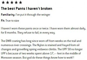 The North Face Paramount II Convertible Pants Review
