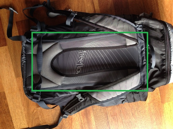 Day Pack with Ventilation