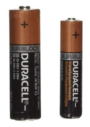 Duracell Coppertop Alkaline AA and AAA Batteries