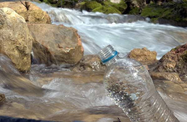 River Water Bottle