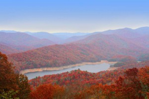 Autumn In The Great Smokie Mountains