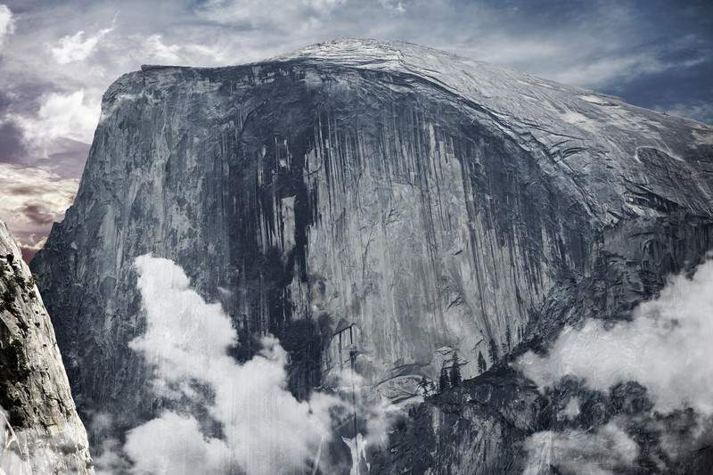 Half Dome Yosemite National Park Sierra Mountains
