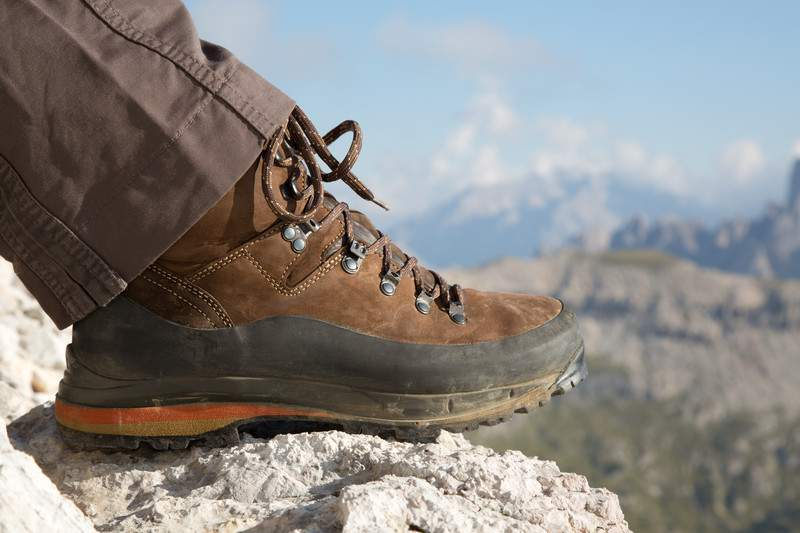 Hiking Boots For The Trail