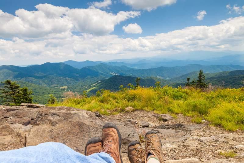 Roan Highlands Round Bald, Roan Mountain State Park, North Carolina