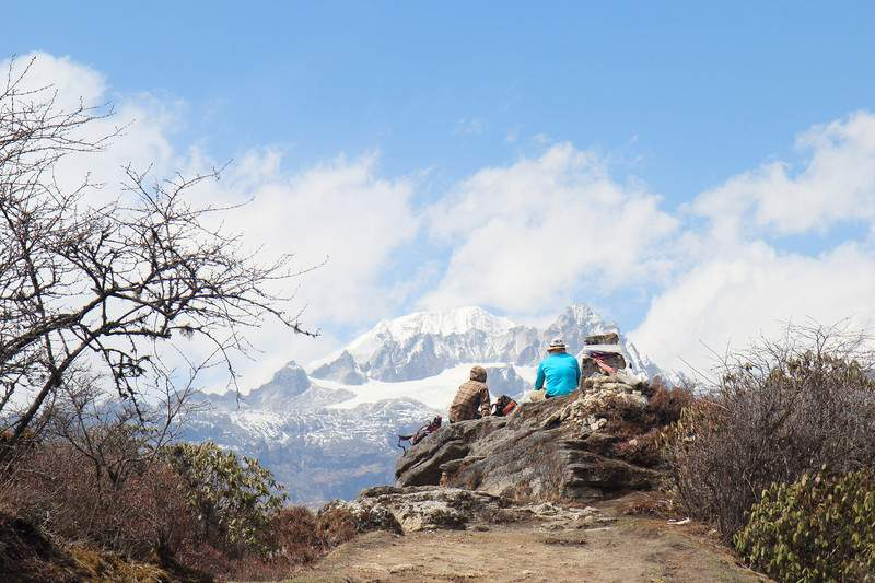 The Goechala trek in Sikkim India
