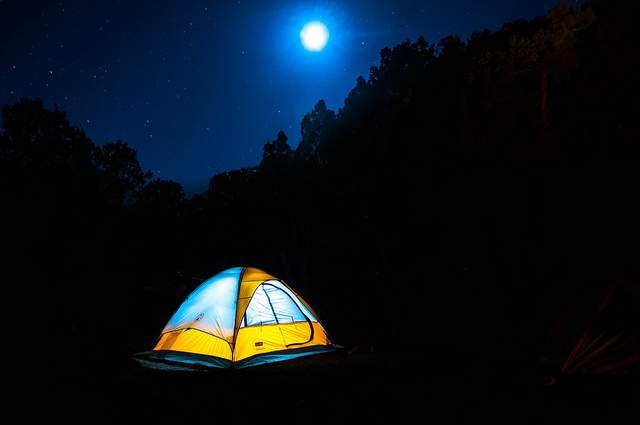 Camping By Moonlight