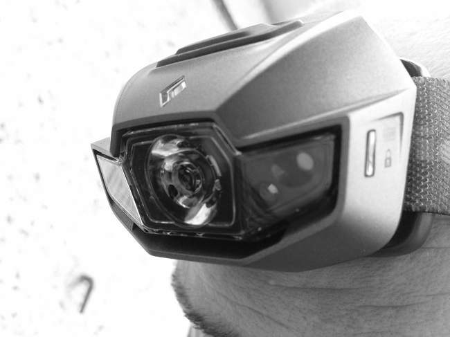 Black Diamond Spot Headlamp Black and White