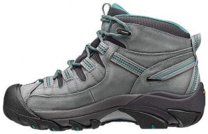 KEEN Womens Targhee II Mid Waterproof Hiking Boot Inside Profile