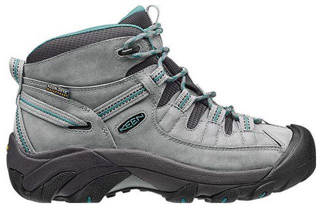 KEEN Womens Targhee II Mid Waterproof Hiking Boot Side Profile