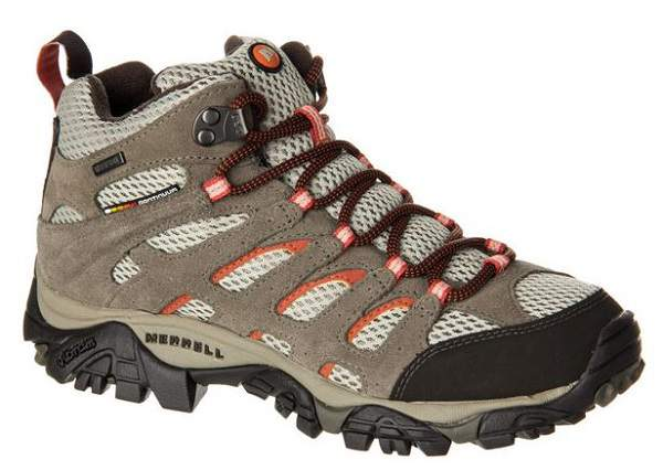 Merrell Moab Mid Waterproof Hiking Boots For Women