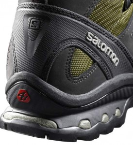 Salomon Mens Quest 4D 2 GTX Hiking Boots Heel