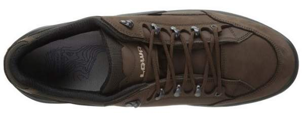 Lowa Mens Renegade II GTX Lo Shoe Top View