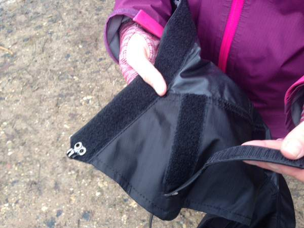 Gaiter Velcro Loop Adjustment