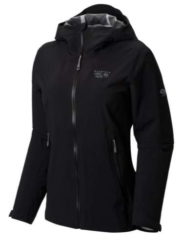 Mountain Hardwear Stretch Ozonic Rain Jacket For Women Gallery Picture