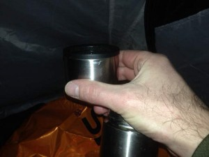 A Hot Drink In My Tent