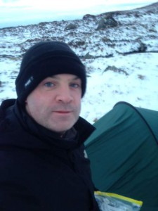 Selfie At The Camp Site