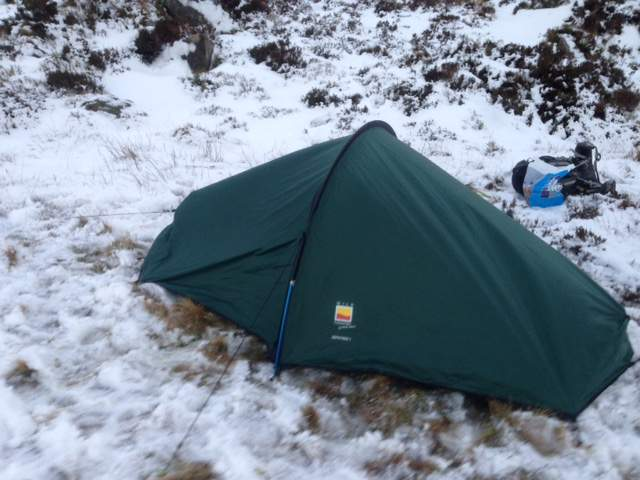 Terra Nova Zephyros 1 Person Tent & Can You Use a 3 Season Tent In Winter? - Coolhikinggear.com
