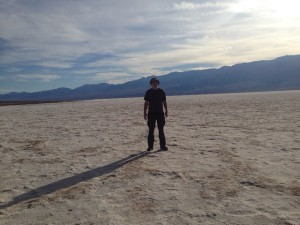 Colm In Badwater Basin