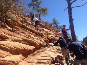 Start of Ridge Up To Angels Landing