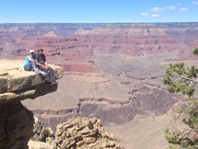 At The South Rim of the Grand Canyon