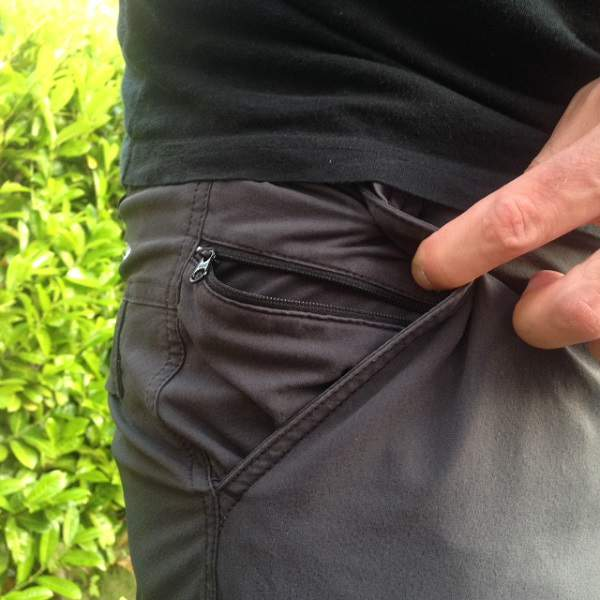 Hiking Pants Secure Pocket
