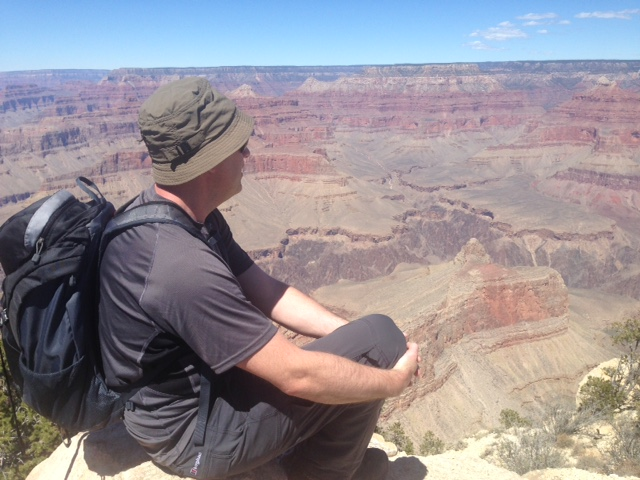 Taking In The View At The Grand Canyon