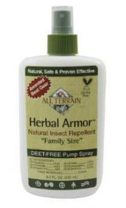 All Terrain Herbal Armor DEET Free Natural Insect Repellent