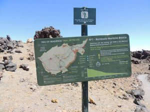 Teide Trail Network