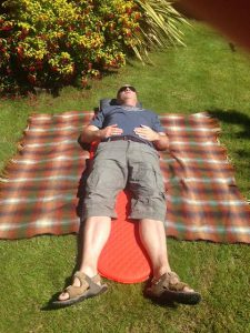 Lying on Thermarest ProLite