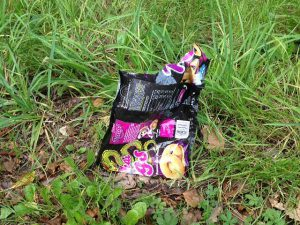 Rubbish On The Ground