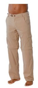 prAna Stretch Zion Convertible Pants for Men CT