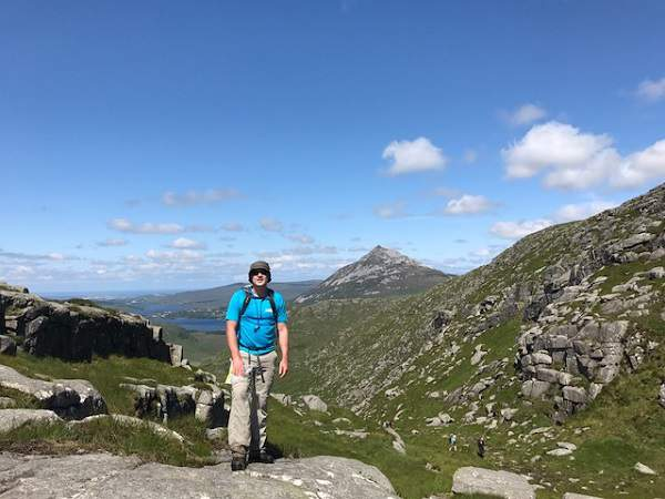 Errigal in the Background